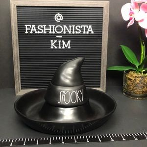 Rae Dunn Spooky witch hat serving dish